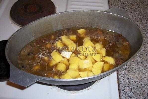Печеня на остаточному етапі приготування