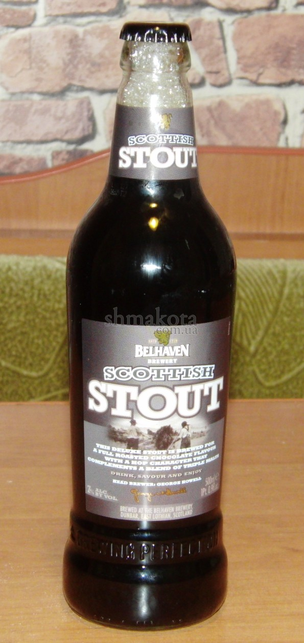 "Пиво ""Scottish Stout"""
