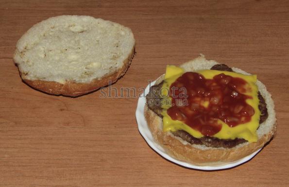 Соус в гамбургер