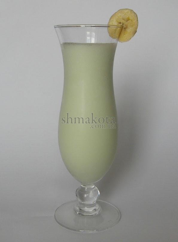 """Коктейль """"Банановий молочний"""" (зелений)"""