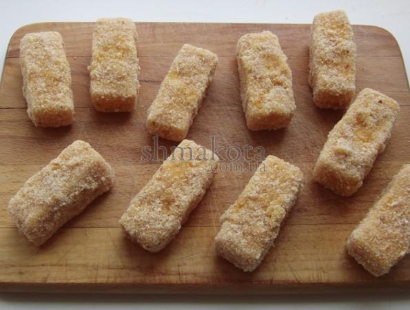 Сыр в двойной панировке