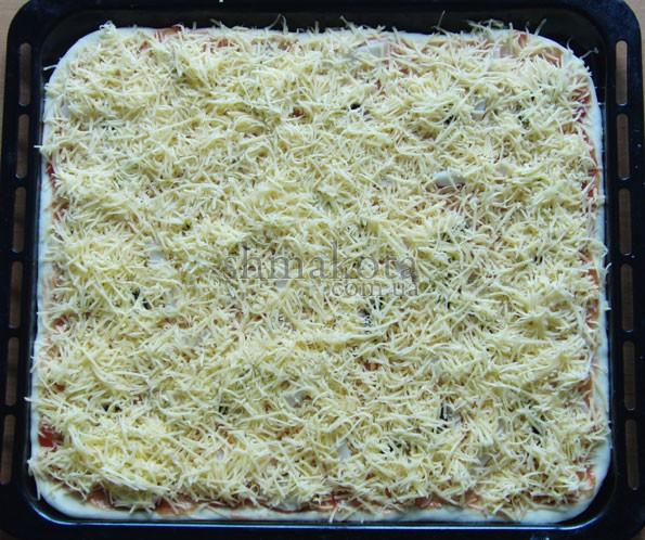 Тертый твердый сыр