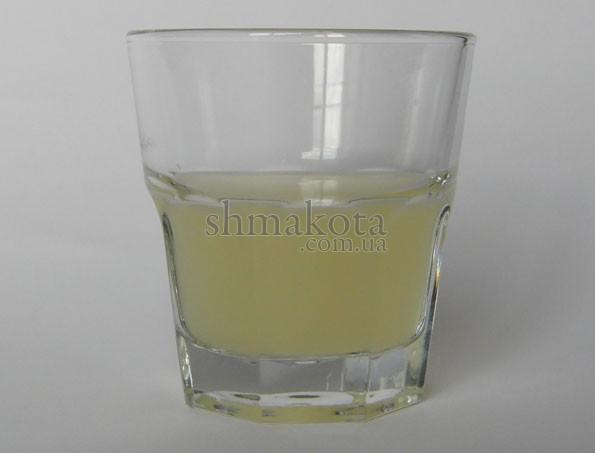 Джин, лимонний сік та цукровий сироп