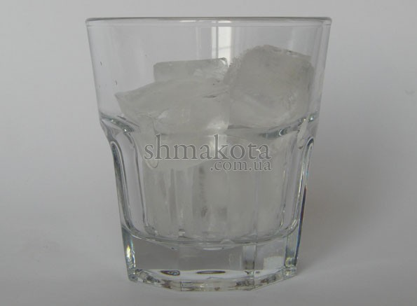 Лід в кубиках