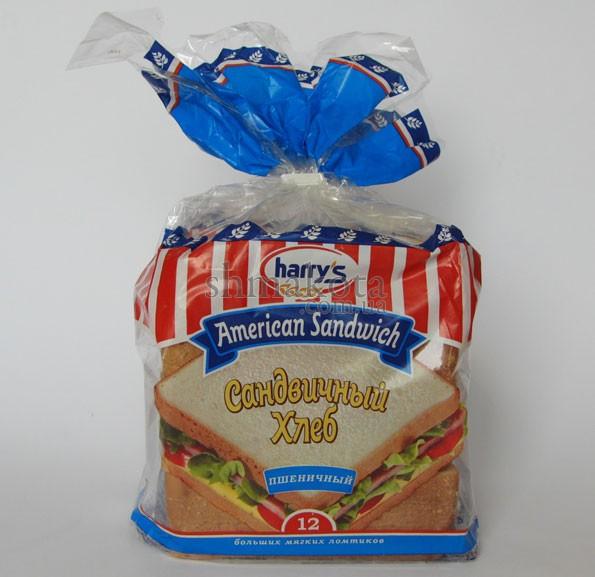 Хліб для сендвічів Harry's