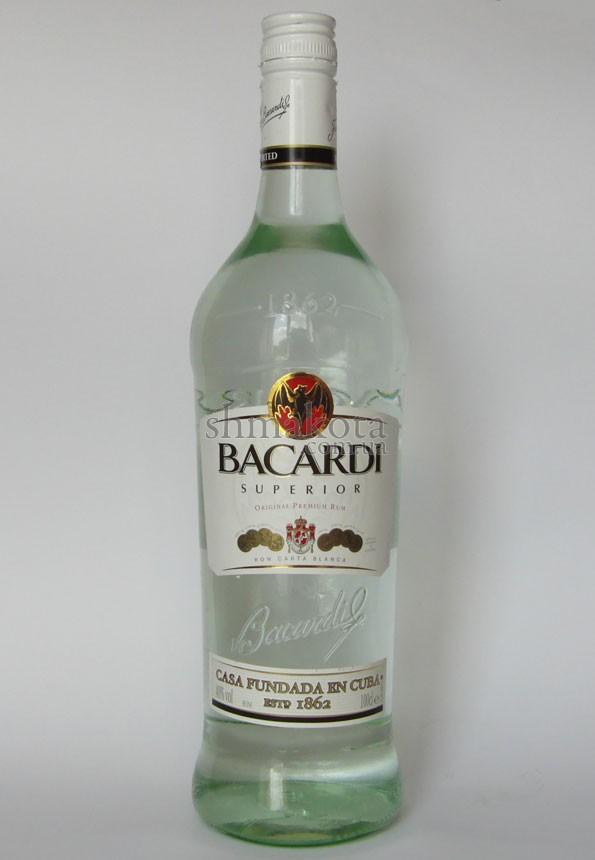 Білий ром Bacardi