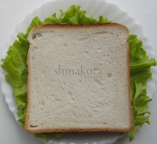 Сэндвич с говяжьим языком