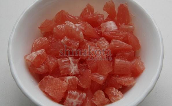 Порізаний грефпфрут