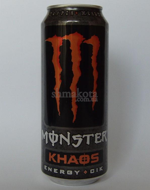 Энергетический напиток Monster Khaos