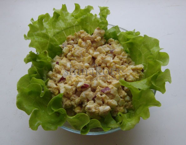 Яєчний салат