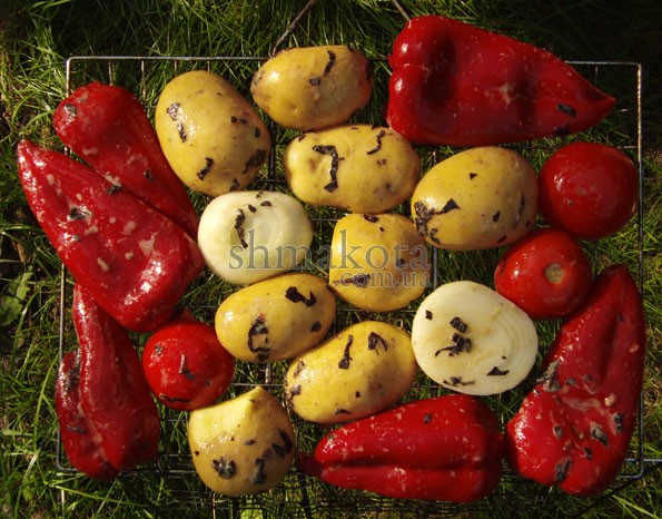 Овочі на грилі