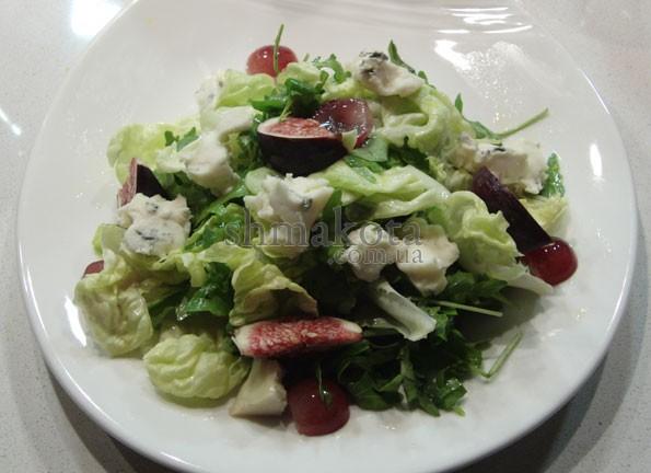 Салат з горгонзолою