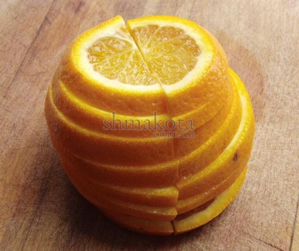 Скибки апельсину