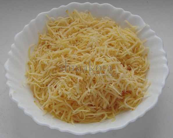 Натертий сир