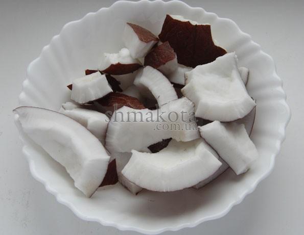 Кусочки кокоса