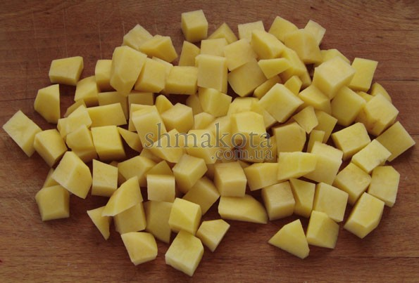 Нарізана картопля