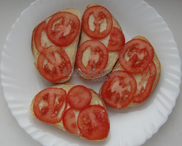 Кружальця помідорів