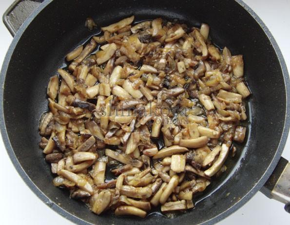 Цибуля та гриби