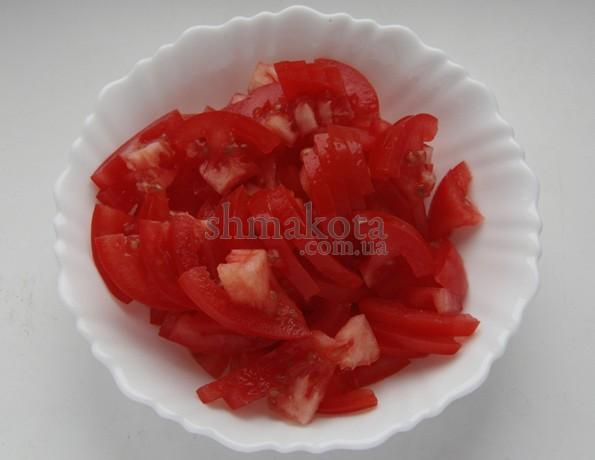 Нарізані помідори