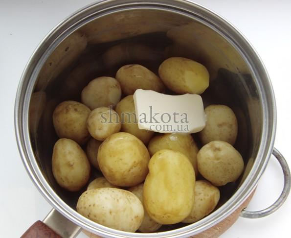 Масло к картошке