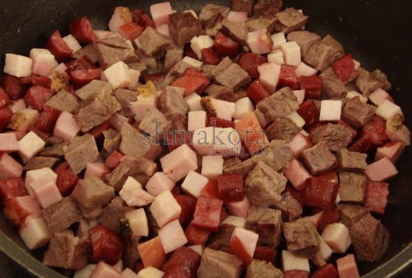М'ясо на солянку