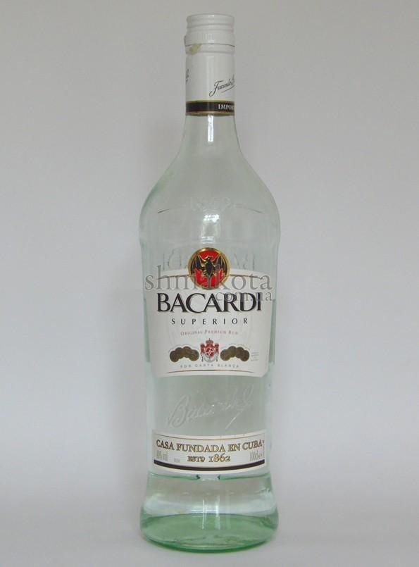 Подделка Bacardi
