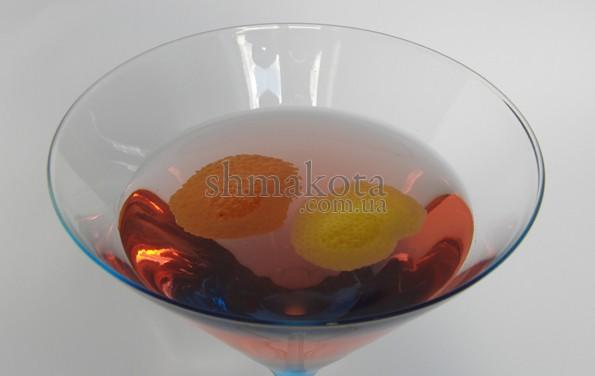 корочки апельсина и лимона