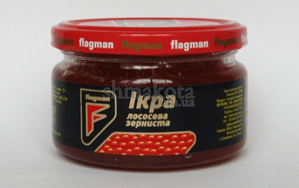 Червона ікра Flagman