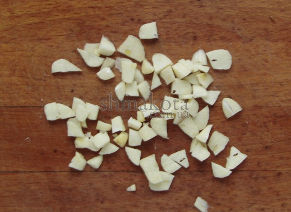 Пластинки чеснока