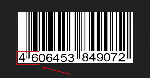 Штрих-код товарів з фашистської Росії