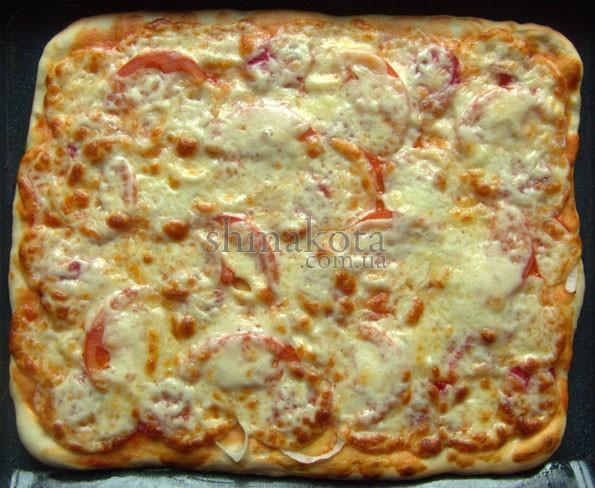 Піца з сиром чедар