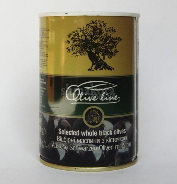 Маслини з кісточкою Olive line